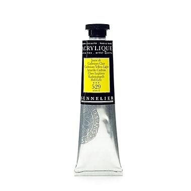 Sennelier Extra-Fine Artist Acryliques Cadmium Yellow Light 529 60 Ml [Pack Of 2] (2PK-10-120021-529)