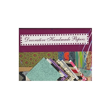 Shizen Design Decorative Collage Paper 4 In. X 4 In. To 5 In. X 7 In. Assorted 1/2 Lb. Pack (PA111)