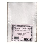 Shizen Design Student Grade Watercolor Paper 9 In. X 12 In. Deckle Edges Pack Of 25 (SA 801)