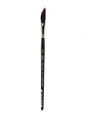 Silver Brush Ruby Satin Series Synthetic Brushes Short Handle 3/8 In. Dagger Striper 2512S (2512S-3/8)