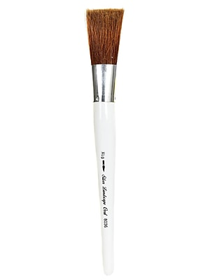 Silver Brush Silver Jumbo Oil Brushes Oval Extra Large (8036-XLG)
