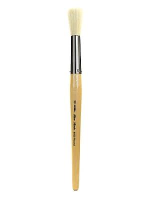 Silver Brush Silver Jumbo Oil Brushes Round 30 (8000-30)