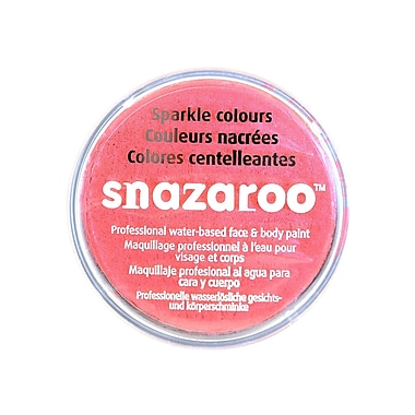 Snazaroo Face Paint Colors Sparkle Salmon Pink [Pack Of 2] (2PK-1118566)