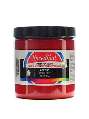 Speedball Acrylic Screen Printing Ink Dark Red 8 Oz. [Pack Of 2] (2PK-4627)