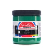 Speedball Acrylic Screen Printing Ink Emerald 8 Oz. [Pack Of 2] (2PK-4634)