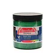 Speedball Opaque Fabric Screen Printing Inks Emerald 8 Oz. (4804)