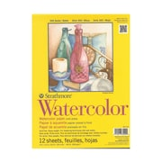 Strathmore 300 Series Watercolor Paper 9 In. X 12 In. Pad Of 12 Tape Bound [Pack Of 2] (2PK-360-109-1)