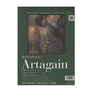 Strathmore 400 Series Artagain Pads Black 9 In. X 12 In. [Pack Of 2] (2PK-445-109-1)