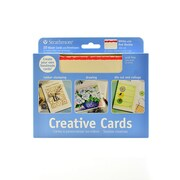 Strathmore Blank Greeting Cards With Envelopes White With Red Deckle Pack Of 20 (105-42-1)