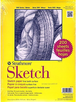 Strathmore Class Packs Sketch 9 In. X 12 In. (351-9-1)