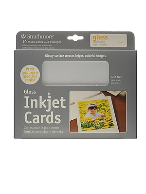 Strathmore Digital Photo Cards Glossy Finish [Pack Of 2] (2PK-59-614)