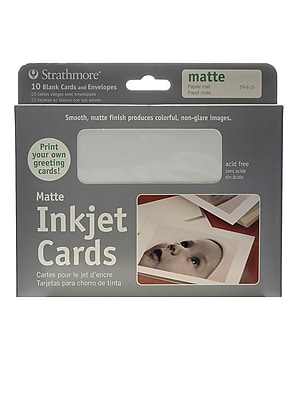 Strathmore Digital Photo Cards Matte Finish [Pack Of 2] (2PK-59-615)