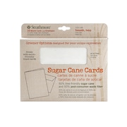 Strathmore Greener Options Cards Smooth Ivory Sugar Cane (105-146)