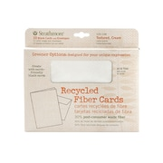 Strathmore Greener Options Cards Textured Cream Recycled Fiber (105-148)