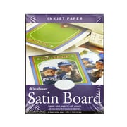Strathmore Inkjet Paper 8 1/2 In. X 11 In. Satin Board Pack Of 20 (59-401)