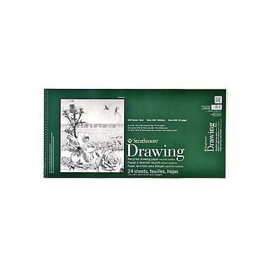 Strathmore Series 400 Premium Recycled Drawing Pads 12 In. X 24 1/2 In. (443-12-1)