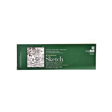 Strathmore Series 400 Premium Recycled Sketch Pads 8 In. X 24 1/2 In. 50 Sheets (457-8-1)
