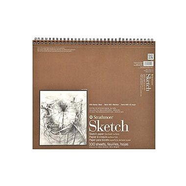 Strathmore Series 400 Sketch Pads 14 In. X 17 In. 100 Sheets (455-5-1)