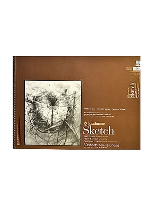 Strathmore Series 400 Sketch Pads 18 In. X 24 In. 30 Sheets (455-18-1)