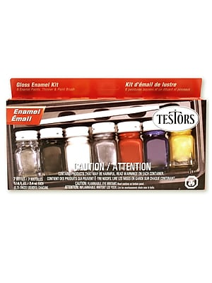 Testors Gloss Enamel Kit Each [Pack Of 2] (2PK-9115X) 2135921