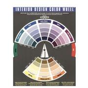 The Color Wheel Company Interior Design Wheel Interior Design Color Wheel [Pack Of 2] (2PK-3500)