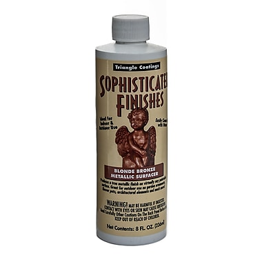 Triangle Coatings Sophisticated Finishes Metallic Surfacers Blonde Bronze 8 Oz. (BDZ6)