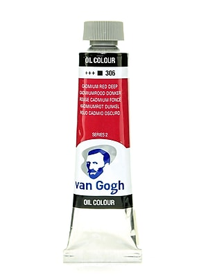 Van Gogh Oil Color Cadmium Red Deep 40 Ml (1.35 Oz) (100514796)