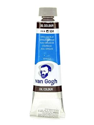 Van Gogh Oil Color Cerulean Blue 40 Ml (1.35 Oz) [Pack Of 2] (2PK-100514822)