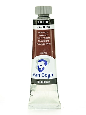 Van Gogh Oil Color Mars Violet 40 Ml (1.35 Oz) [Pack Of 2] (2PK-100514825)