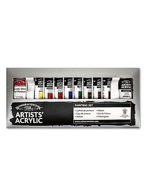 Winsor And Newton Artists' Acrylic Colour Painting Set Each (2390403) 2246160