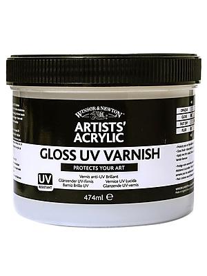 Winsor And Newton Artists' Acrylic Uv Varnishes Gloss 237 Ml Jar (3050929)