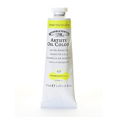 Winsor And Newton Artists' Oil Colours Bismuth Yellow 25 37 Ml (1214025)