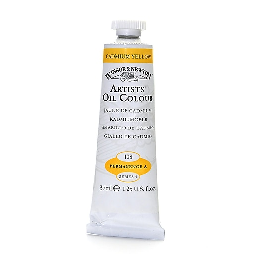 Winsor And Newton Artists' Oil Colours Cadmium Yellow 108 37 Ml (1214108)