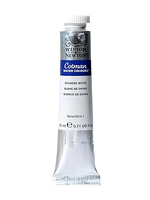 Winsor And Newton Cotman Water Colours Chinese White 150 21 Ml (0308150)
