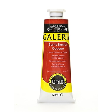 Winsor And Newton Galeria Flow Formula Acrylic Colours Burnt Sienna Opaque 60 Ml 77 [Pack Of 4] (4PK-2120077)