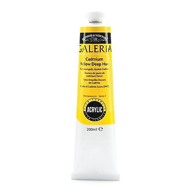 Winsor And Newton Galeria Flow Formula Acrylic Colours Cadmium Yellow Deep Hue 200 Ml 115 [Pack Of 2] (2PK-2136115)