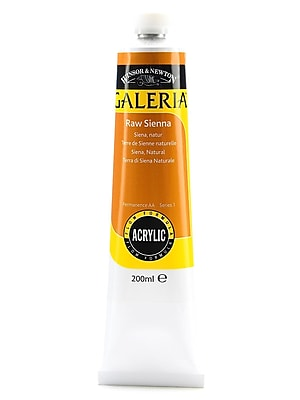 Winsor And Newton Galeria Flow Formula Acrylic Colours Raw Sienna 200 Ml 552 [Pack Of 2] (2PK-2136552)