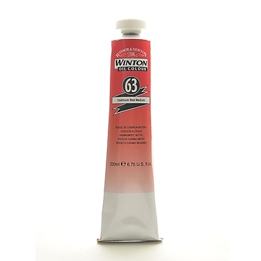 Winsor And Newton Winton Oil Colours 200 Ml Cadmium Red Medium 63 (1437099)