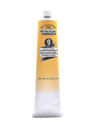 Winsor And Newton Winton Oil Colours 200 Ml Cadmium Yellow Hue 9 (1437109)
