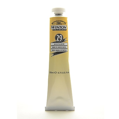 Winsor And Newton Winton Oil Colours 200 Ml Naples Yellow Hue 29 (1437422)
