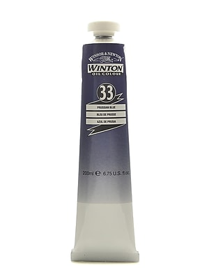 Winsor And Newton Winton Oil Colours 200 Ml Prussian Blue 33 (1437538)