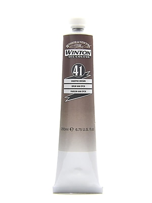 Winsor And Newton Winton Oil Colours 200 Ml Vandyke Brown 41 (1437676)