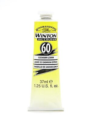 Winsor And Newton Winton Oil Colours 37 Ml Cadmium Lemon 60 [Pack Of 2] (2PK-1414086)