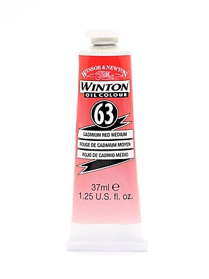 Winsor And Newton Winton Oil Colours 37 Ml Cadmium Red Light 62 [Pack Of 2] (2PK-1414100)