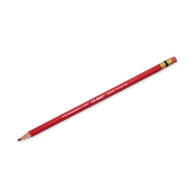 Prismacolor Col-Erase Erasable Colored Pencils, Carmine Red, Box of 12