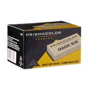 Prismacolor Premier Magic Rub Vinyl Erasers, 12 Pack