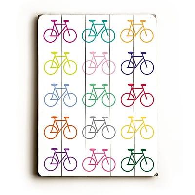 Artehouse LLC Go Ride by Amanada Catherine Graphic Art Plaque