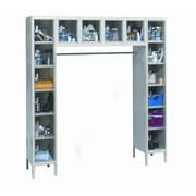 Hallowell Safety-View 6 Tier 5 Wide Safety Locker