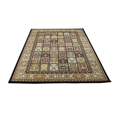 Rug Factory Plus Mona Lisa Black Area Rug; 7'11'' x 10'6''