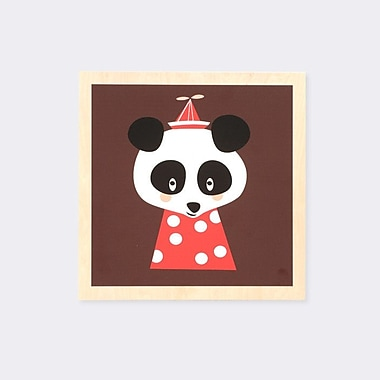 Scantrends Ferm Living Kids Posey Panda Marionette by Darling Clementine Graphic Art